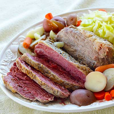 Barbara Rider's Corned Beef & Cabbage